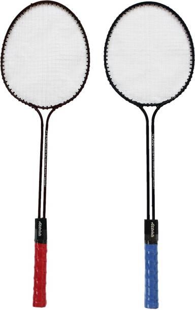 Neulife Addvish Double Rods Multicolor Strung Badminton Racquet