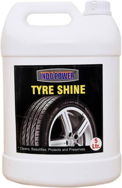 INDOPOWER EXTRA POWER9-TYRE SHINER 5ltr. 5000 g Wheel Tire Cleaner