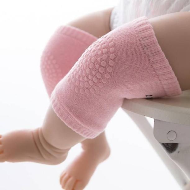 Fashion Crawling Infant Knie Pads Safety Anti-slip Walking Leg Elbow Protector F