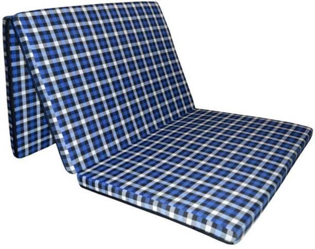 sugandha Folding mattress 5.08 inch Single PU Foam Mattress