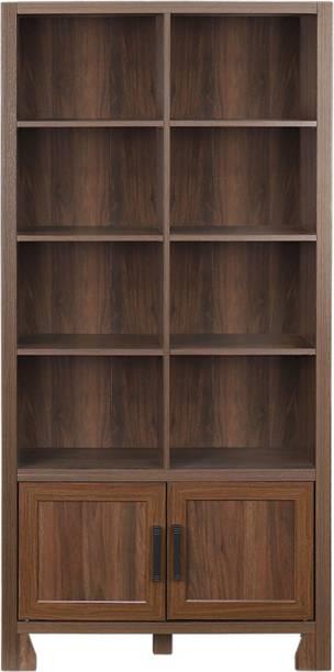 WOODNESS Engineered Wood Semi-Open Book Shelf