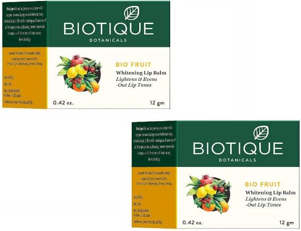 BIOTIQUE LIP BALM 12G Fruity