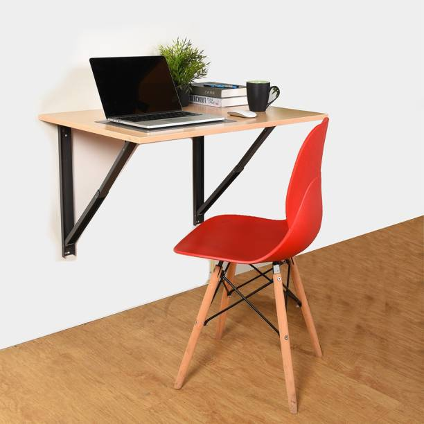 COMFOLD Table for Laptop/Study/Writing/dining Recommended Wall Table for Laptop for Office/Home/ Portable Desk Lap | Kids Study Wall Desk Folding | Best Study/laptop Wooden Tables - L (23.62/ Inch/ 60cm) H(15.74Inch /40Cm) Engineered Wood Study Table