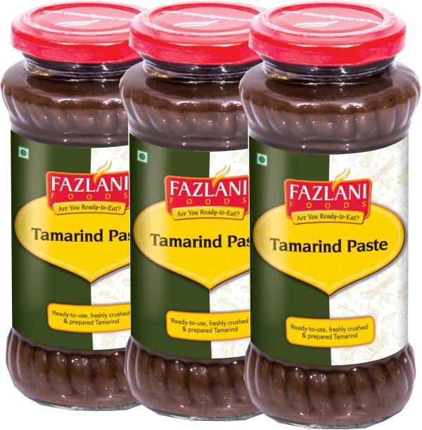 FAZLANI FOODS Ready to Use Tamarind Paste (Pack of 3, 300gm each)