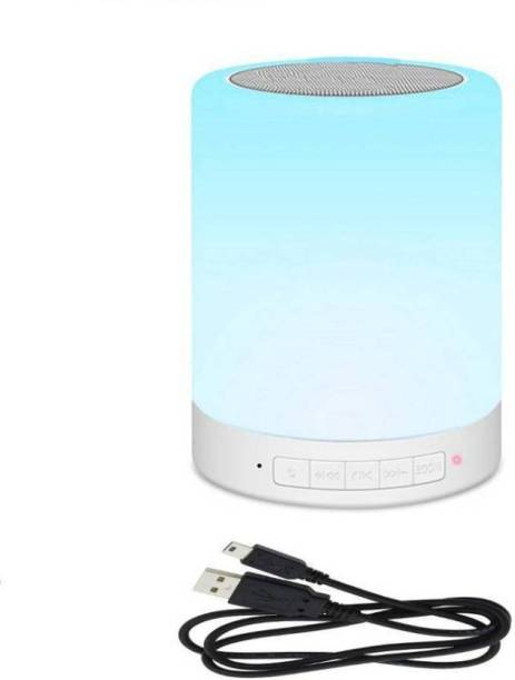 PHOLOR Multicolr changing TOUCH LAMP speaker 1 W Bluetooth Speaker 5 W Bluetooth Speaker