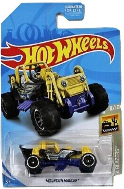 HOT WHEELS Car Toys, Colors & Design May Vary (pack of 3)