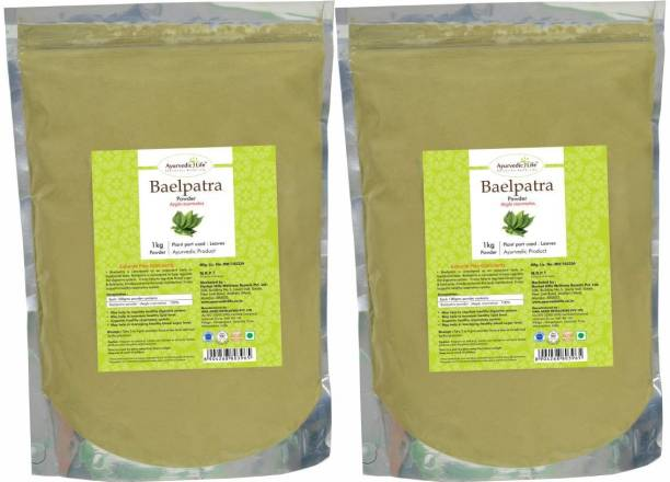 Ayurvedic Life Baelpatra Powder - 1 kg Value Pack of 2