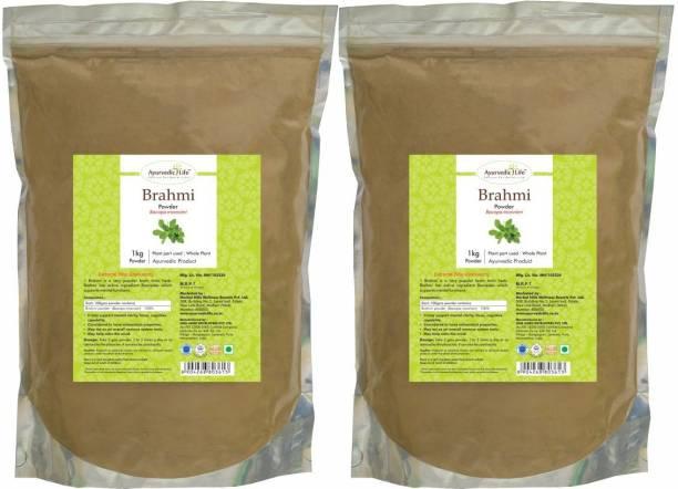 Ayurvedic Life Brahmi Powder - 1 kg Value Pack of 2