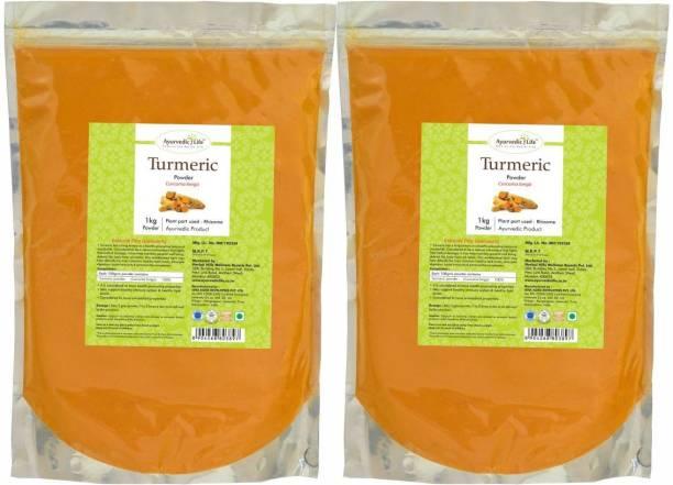Ayurvedic Life Turmeric Powder - 1 kg Value Pack of 2