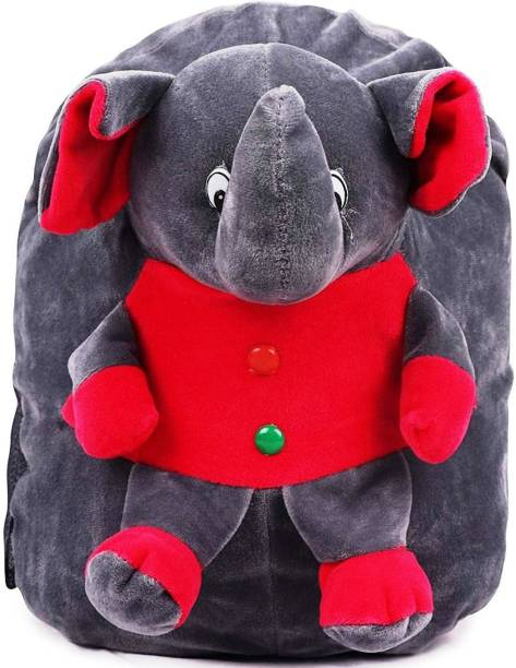 DZert Kids Bag Elephant Soft Plush Backpack Plush Bag