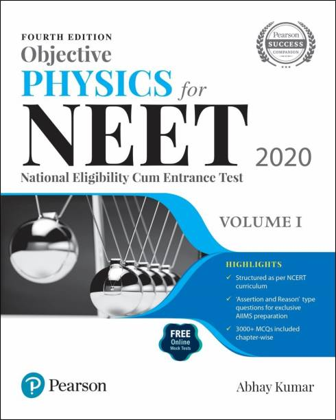 Objective Physics for NEET 2020 | Volume 1 | Fourth Edition | By Pearson