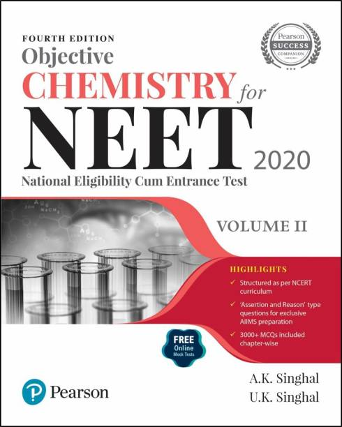 Objective Chemistry for NEET 2020 | Volume 2 | Fourth Edition | By Pearson