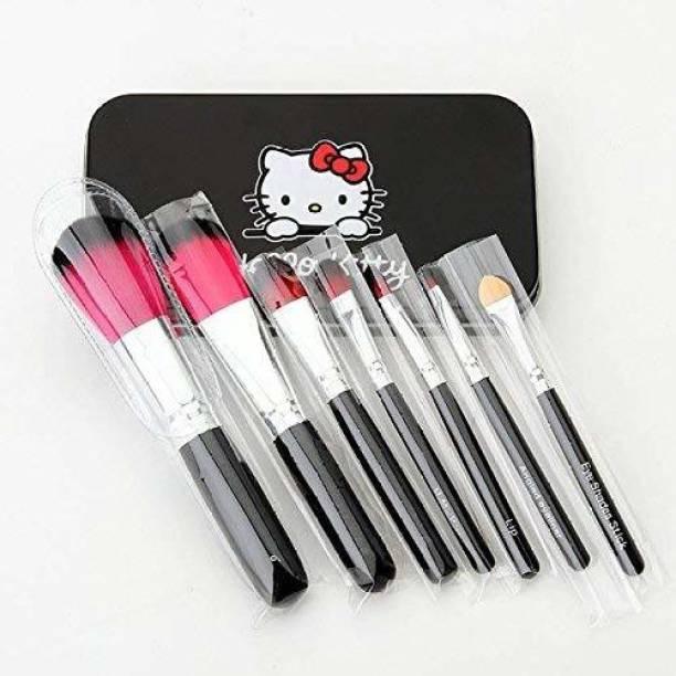 BELLA HARARO Authentic 7pcs Professional Black brush set