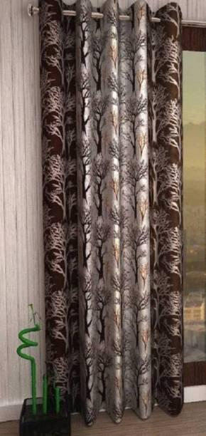 Batra Home Furnishing 213 cm (7 ft) Polyester Door Curtain Single Curtain