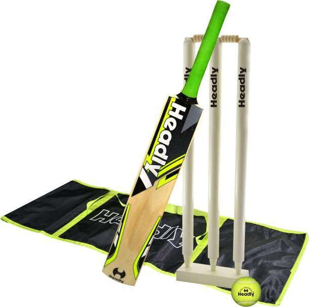 Headly Blast Short Handle Tennis Play Popular Willow Bat Cricket Kit