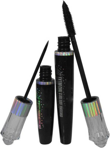 YOUNGMONK Extra Curl & Volume Mascara/Eyeliner 18 ml (Black) 18 ml