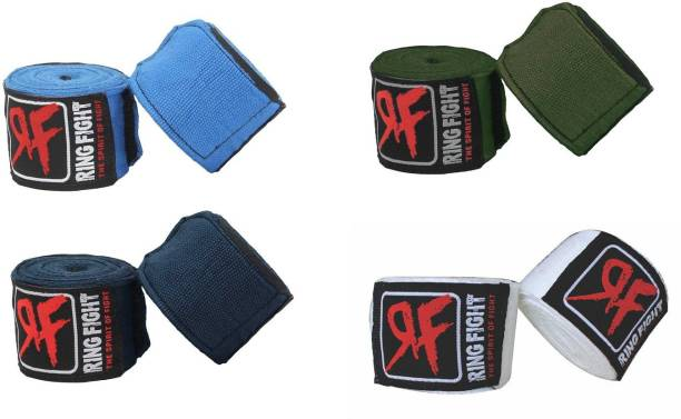 Ring Fight RF-HW-COMBO4 Multicolor Boxing Hand Wrap