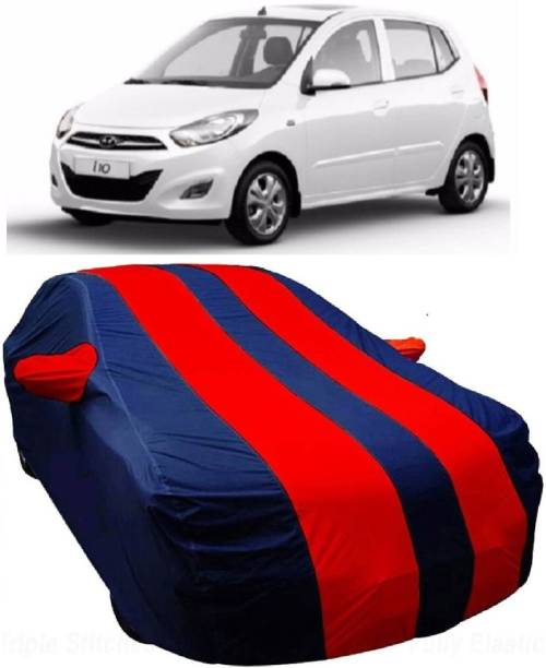 MoTRoX Car Cover For Hyundai i10 (With Mirror Pockets)