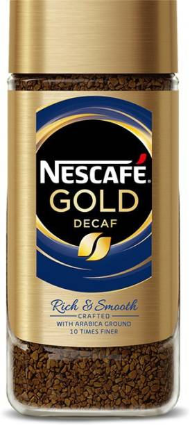 Nescafe Gold Blend Decaf Coffee, 200g Instant Coffee