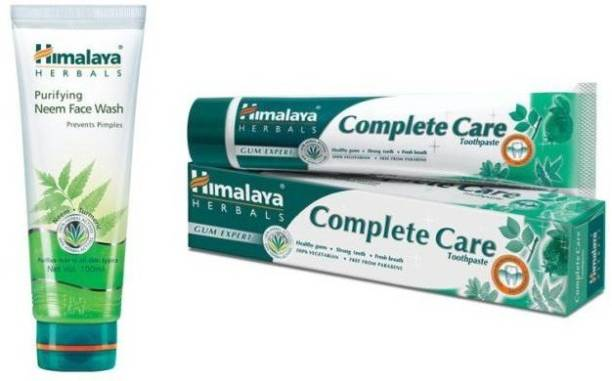 Himalaya Herbals Purifying Neem Face Wash with Toothpaste