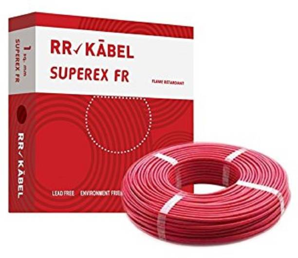 RR KABEL FR PVC INSULATED Red 90 m Wire