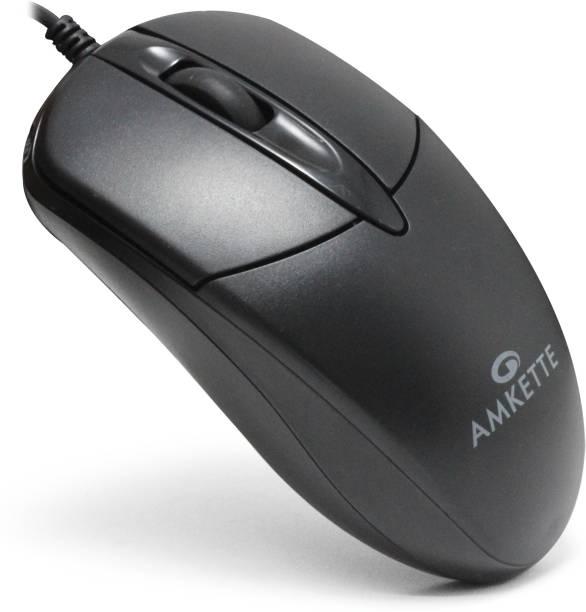 AMKETTE Kwik Pro 8 USB Wired Optical Mouse