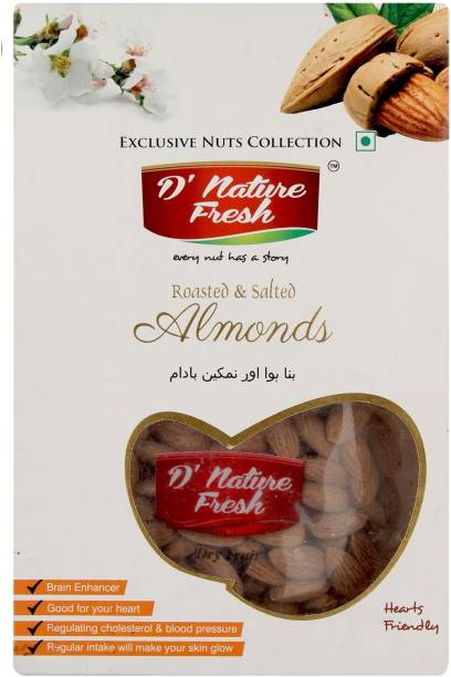 D NATURE FRESH Roasted & Salted Monds Almonds