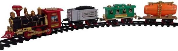 mayank & company Toy Train Emits Real Smoke Light