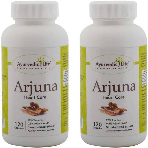 Ayurvedic Life Arjuna 120 capsules - Pack of 2