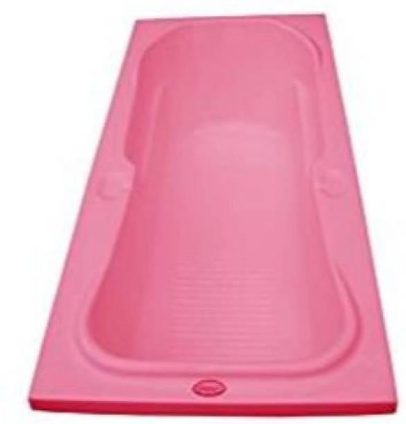 MADONNA Rex Rectangular Acrylic 5.5 feet Bath Tub - Pink(B01J8R81E2) Undermount Bathtub