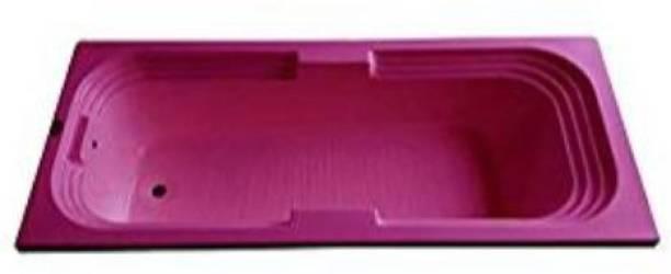 MADONNA 6 feet Rectangular Bath Tub for Adults- Magenta(B01JAVFYTQ) Undermount Bathtub