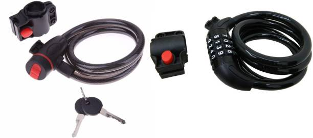 M MOD CON Combo of Heavy Resettable Number Lock + Keylock (2 keys) Cycle Lock