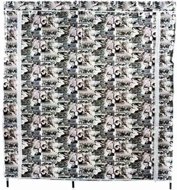 GTC Foldable Cloth Racks (88105-2) PVC Collapsible Wardrobe