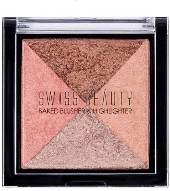 SWISS BEAUTY Westfield Collections Baked Blusher & Highlighter (7g, ColorSet-01)