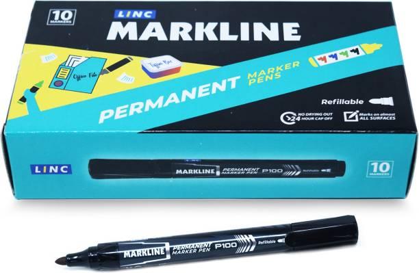 Linc Markline Permanent Marker Pens