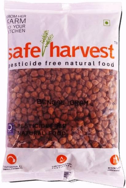 safe harvest Bengal Gram (Whole) (Kala Chana)