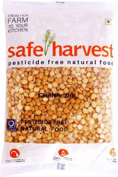 safe harvest Yellow Chana Dal (Split)