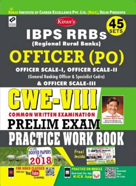 KIRAN IBPS RRBs Officer (PO) CWE VIII Preliminary Exam Practice Work Book English