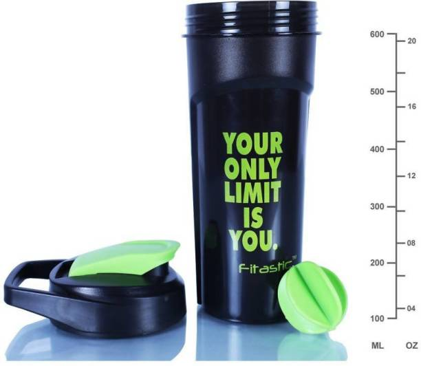 Fitastic Your only limit is you 600 ml Shaker