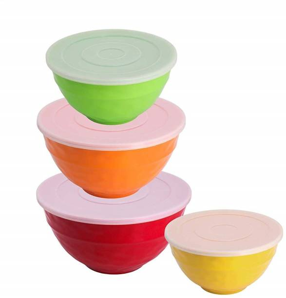 STEHLEN 100% Pure Melamine, BPA Free, FDA Approved, Salad Bowl Set Melamine Storage Bowl