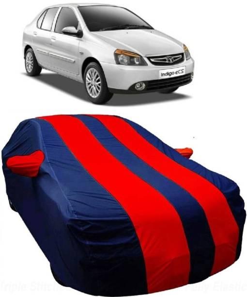 MoTRoX Car Cover For Tata Indigo eCS (With Mirror Pockets)