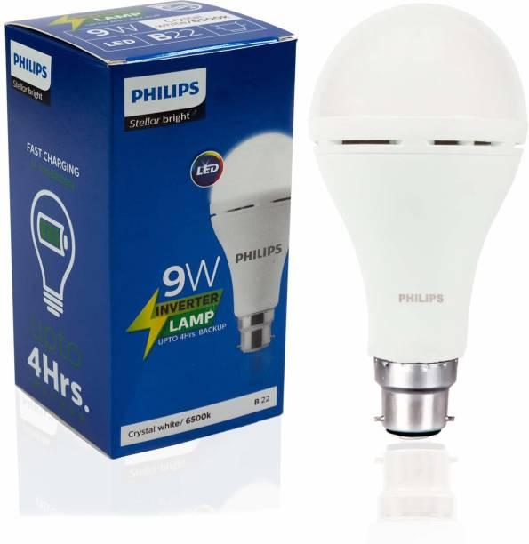 Philips 9 W Round B22 Inverter Bulb