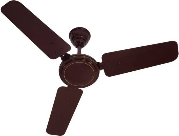 Sameer 900mm Brown 900 mm 3 Blade Ceiling Fan