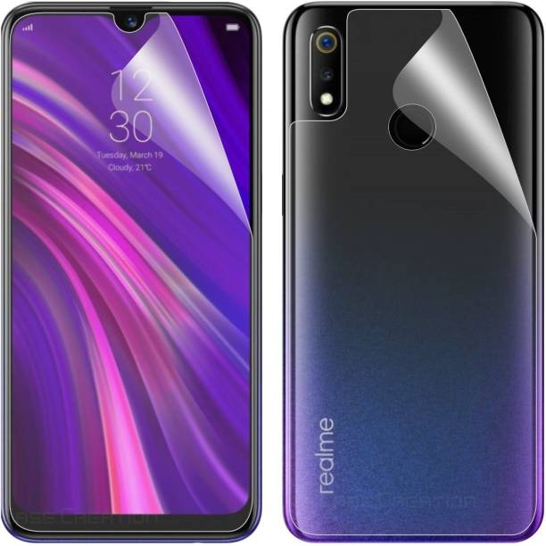 Case Creation Impossible Screen Guard for Oppo F9, OPPO F9 Pro, Realme 2 Pro, Realme U1, Realme 3 Pro