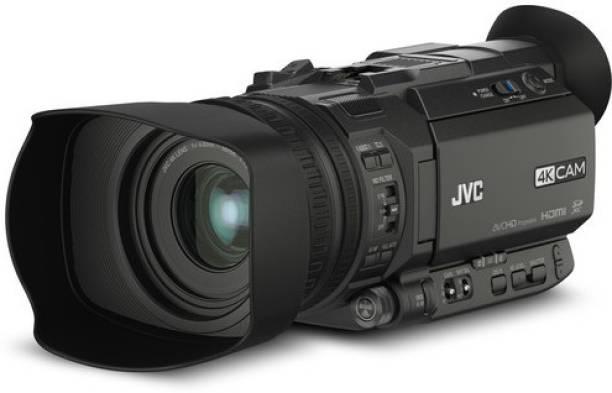 JVC JY JY-HM170 4KCAM Compact Professional Camcorder Camcorder