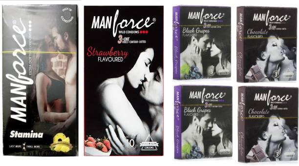 MANFORCE Stay Long Condom Set (Free Stay Long Gel) Condom