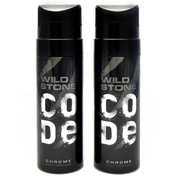 Wild Stone Code Chrome No Gas Deodorant Spray  -  For Men