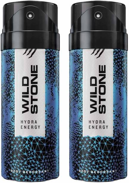 Wild Stone HYDRA ENERGY ( PACK OF 2) Deodorant Spray  -  For Men