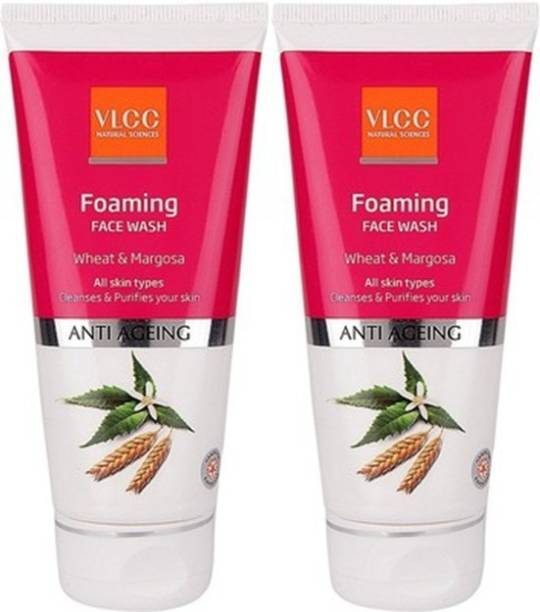 VLCC Foaming Wheat & Margosa (Pack Of 2) Face Wash