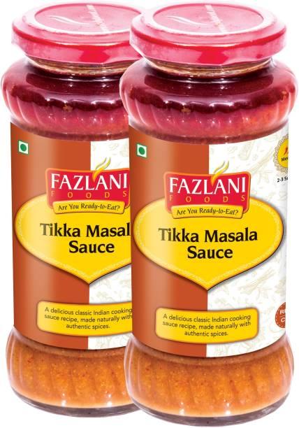 FAZLANI FOODS Ready to Eat Tikka Masala Sauce (Pack of 2, 285gm each) Sauce
